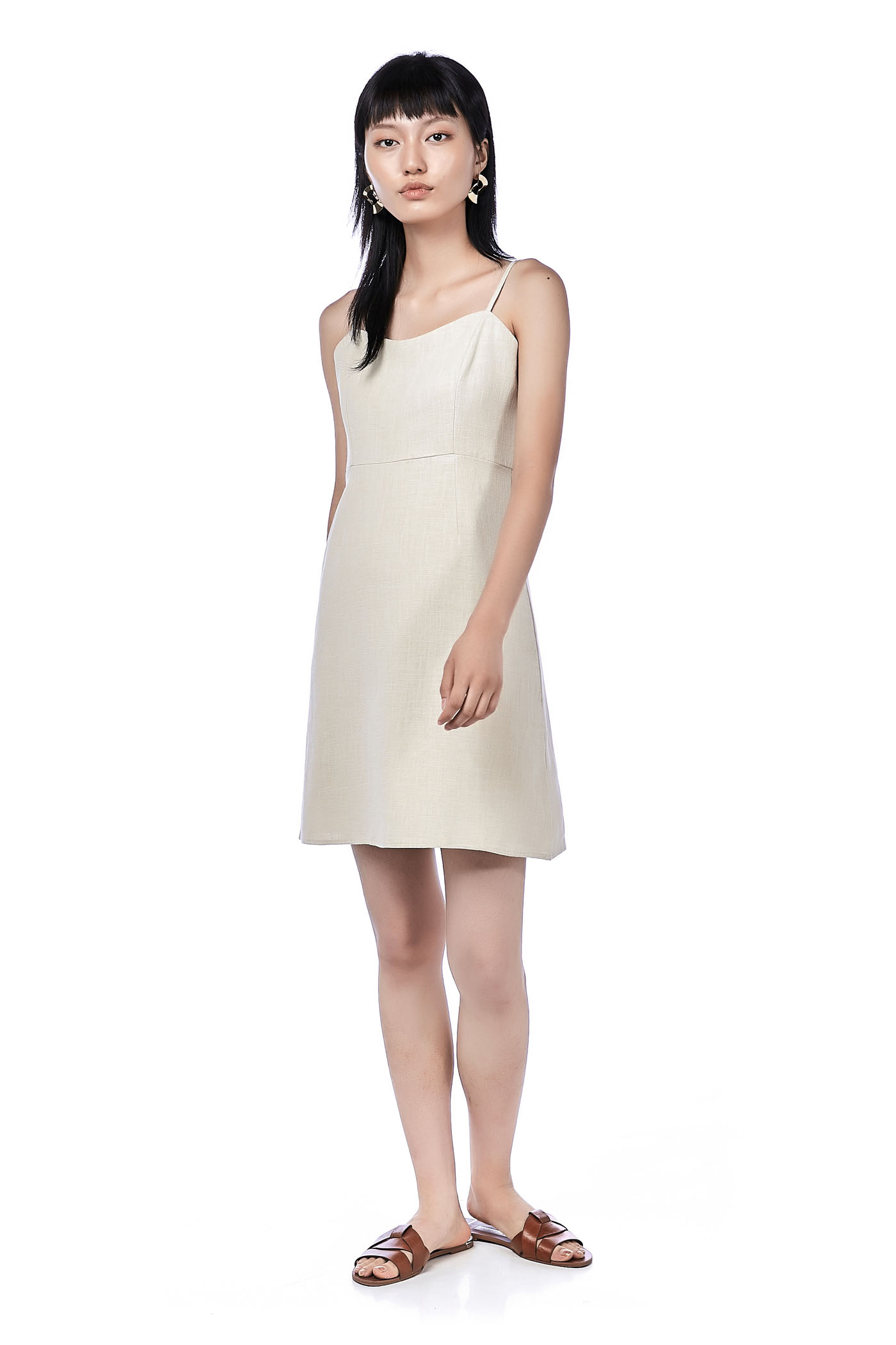 Syami Fitted Dress