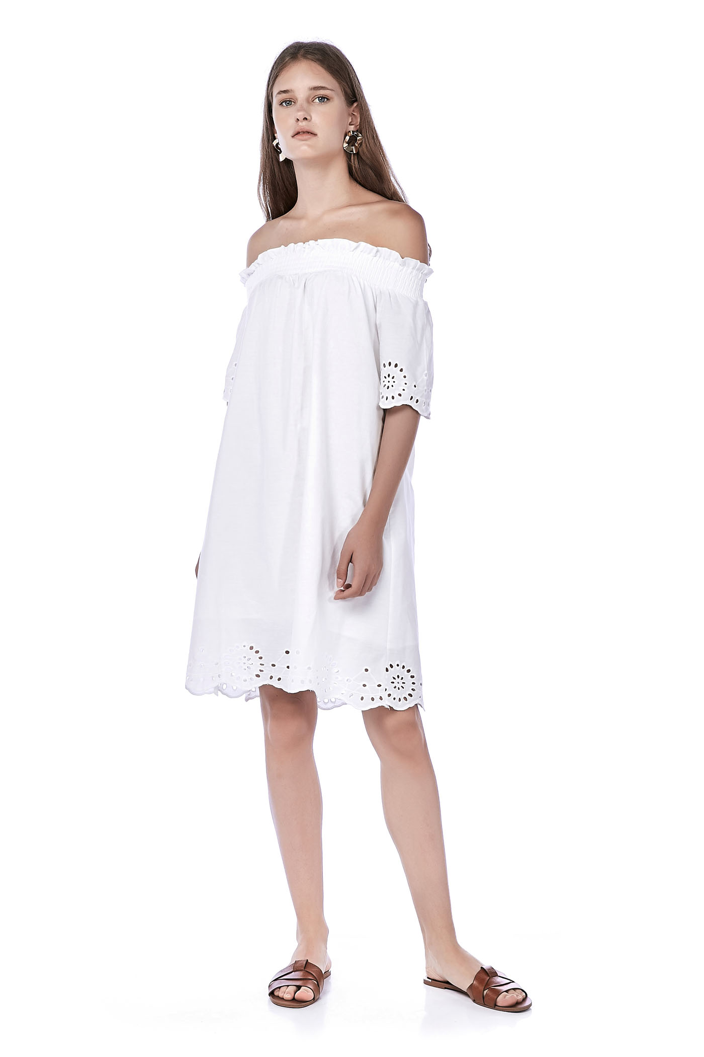 Denisa Off-Shoulder Dress