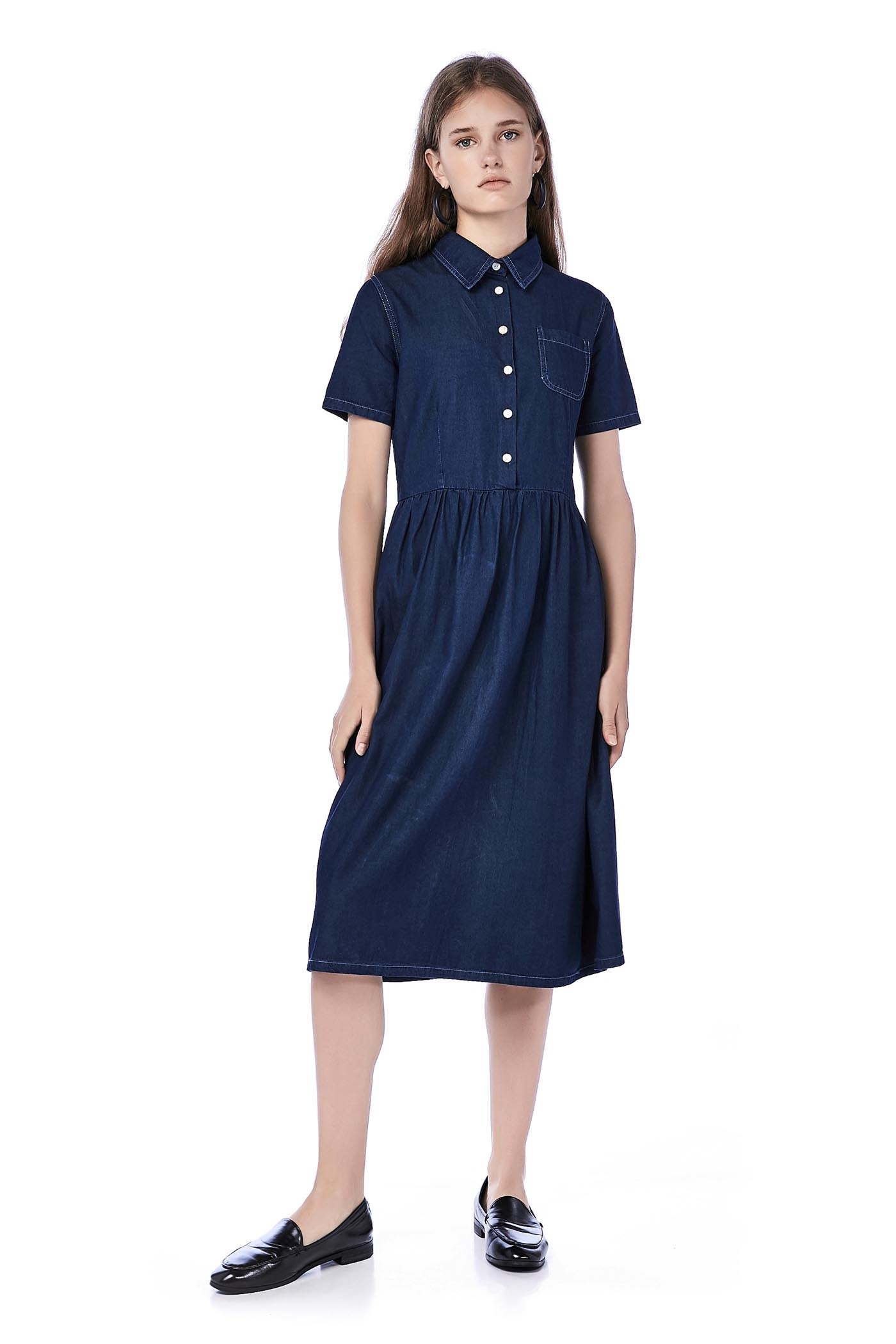 Sophia Denim Shirtdress