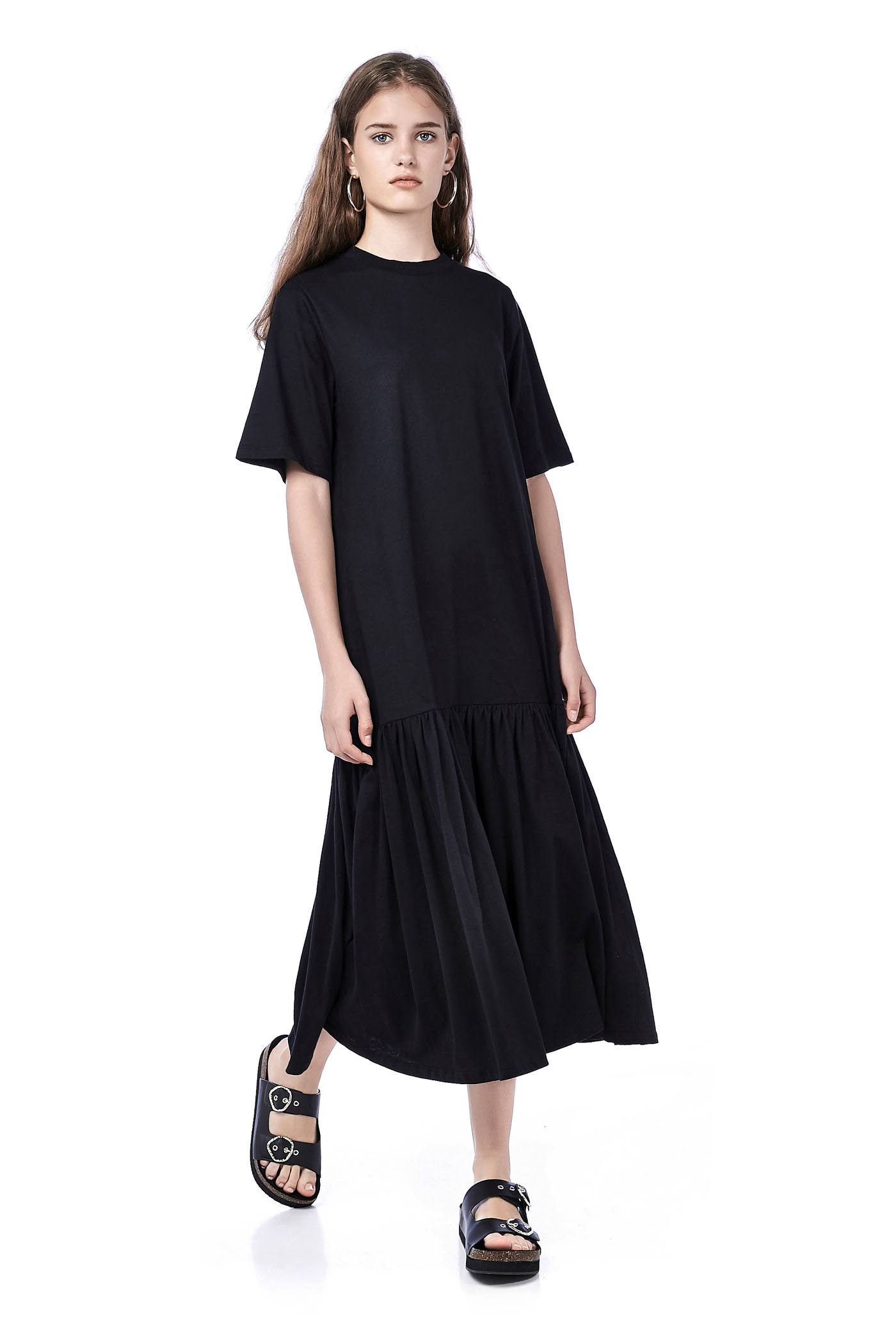 Ernie Drop-Waist Maxi Dress