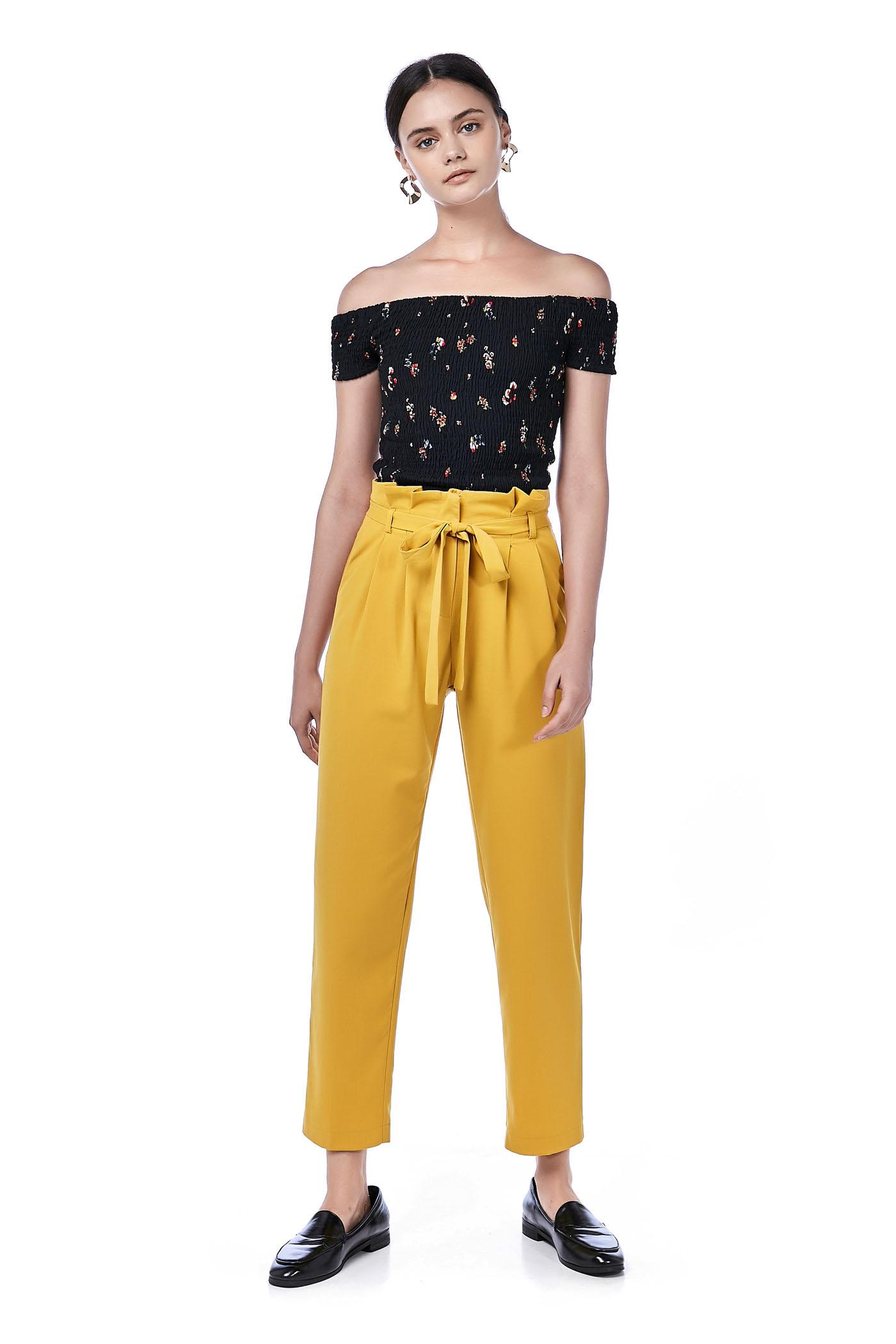 Nadine Paperbag Pants
