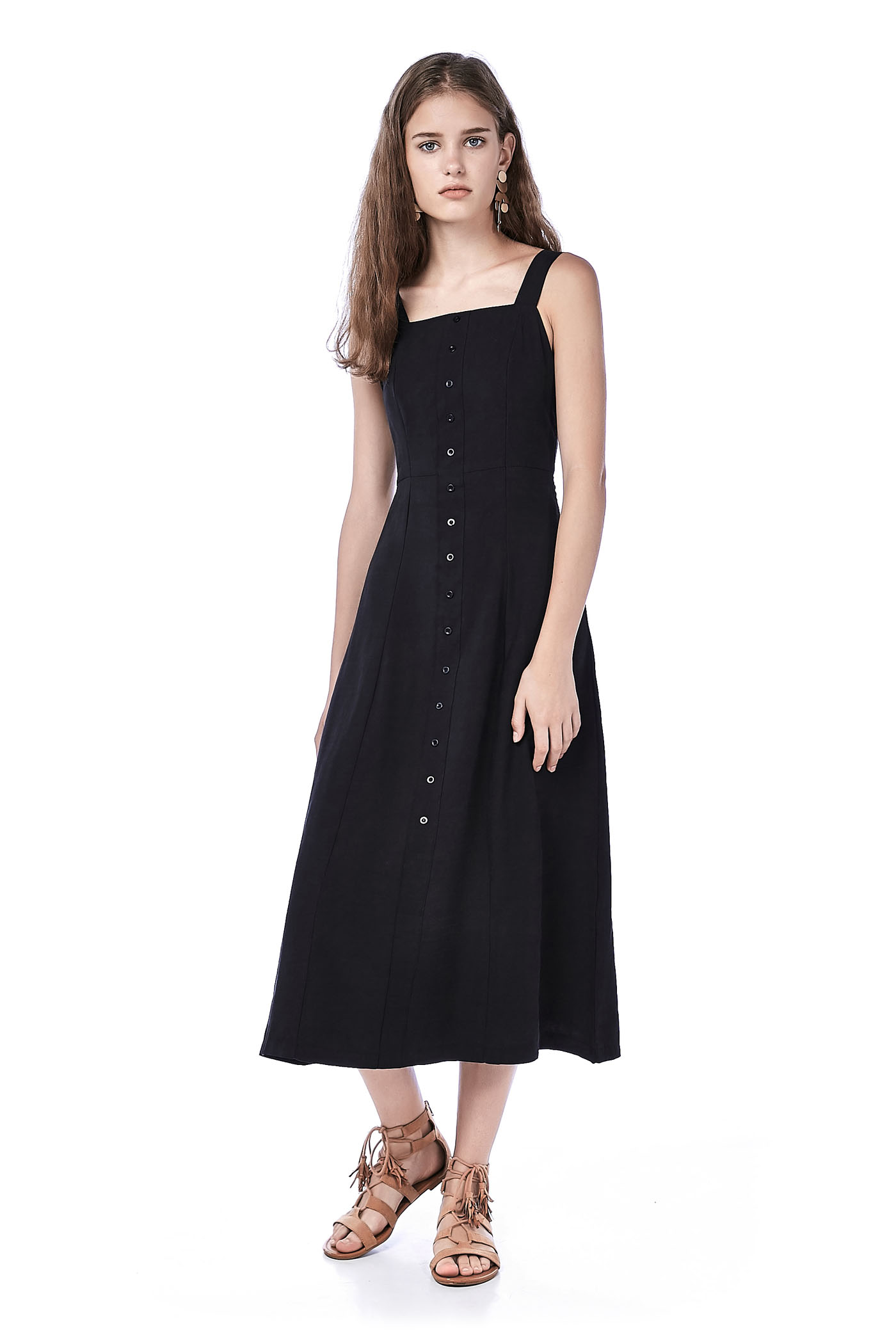Chessa Bib Maxi Dress