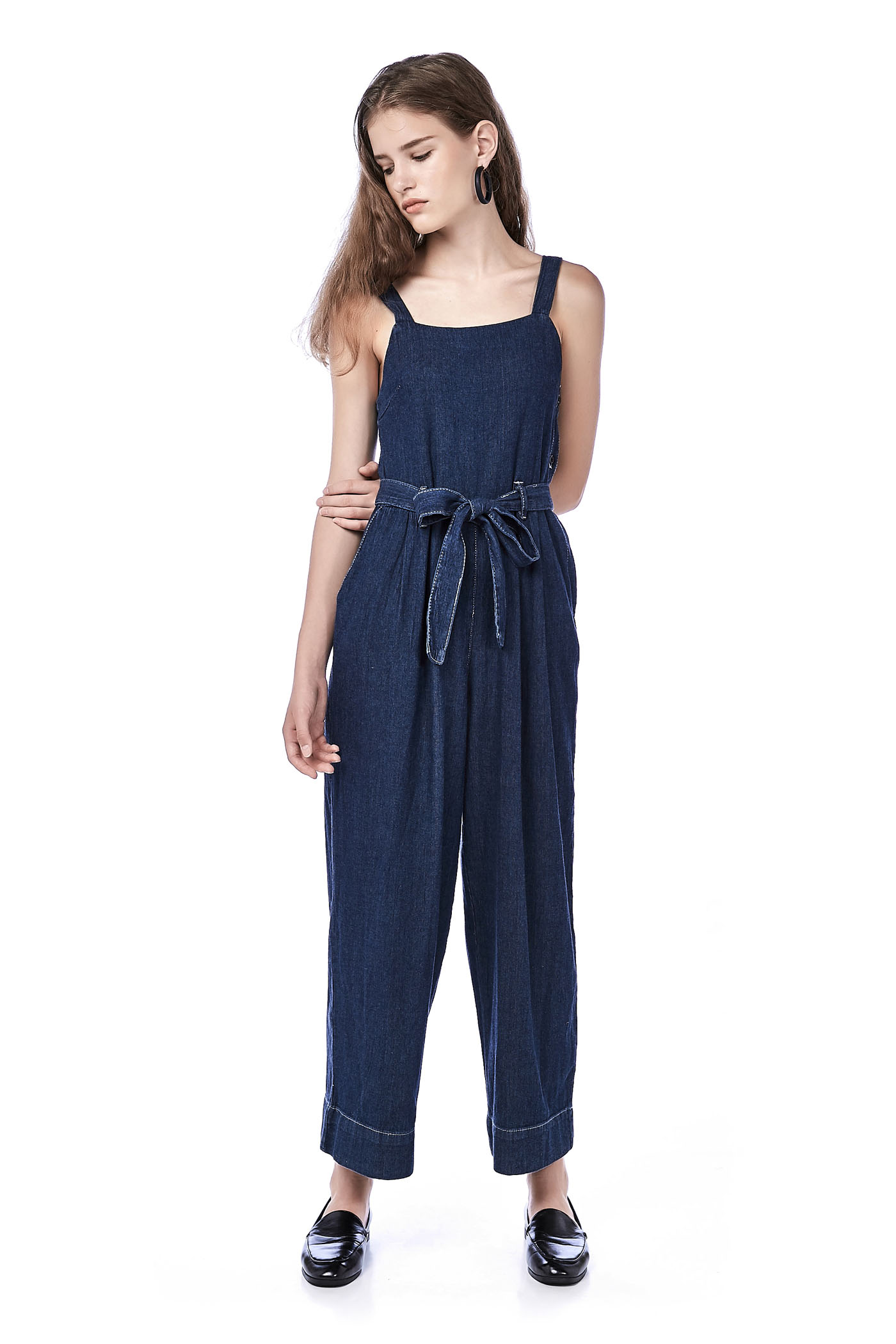 Haiden Side-Button Jumpsuit