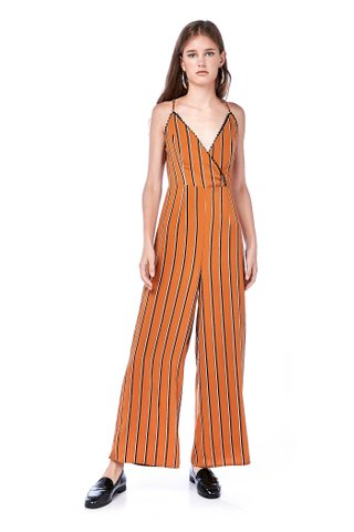 Venezia Lace-trim Jumpsuit