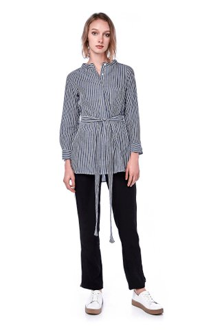 Anila Stand Collar Shirt