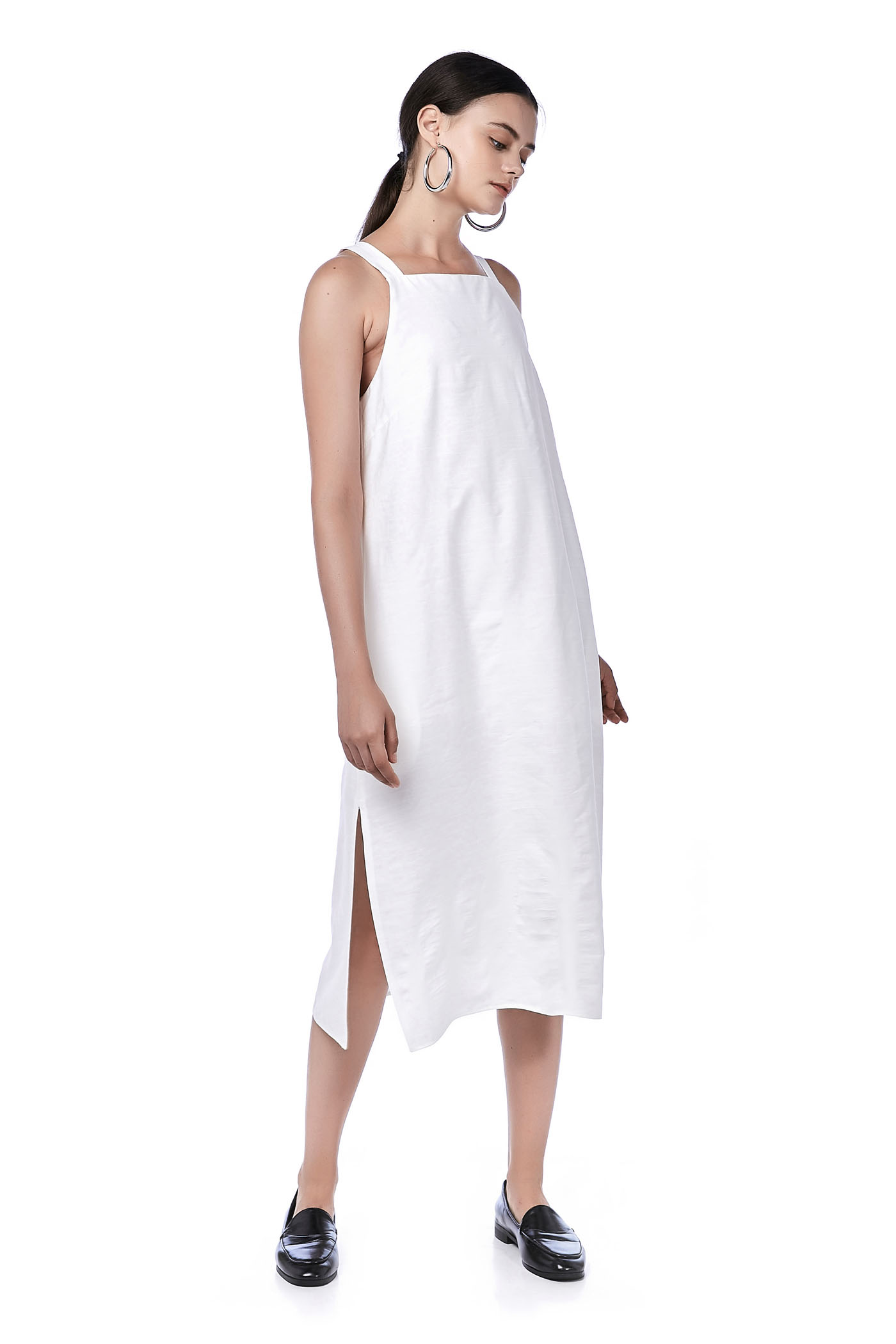 Ilisa Bib Midi Dress