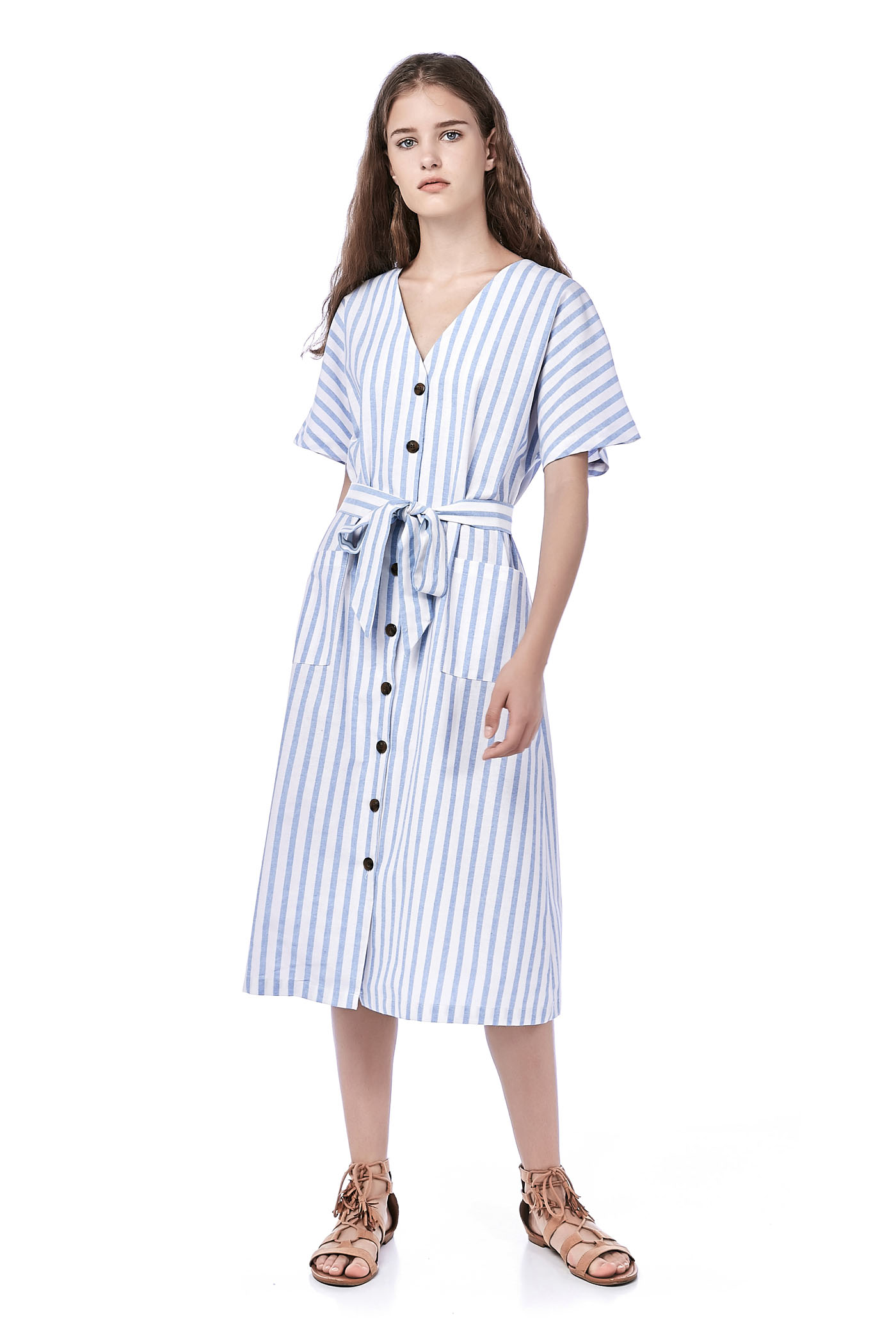 Sedna Stripe Shirtdress