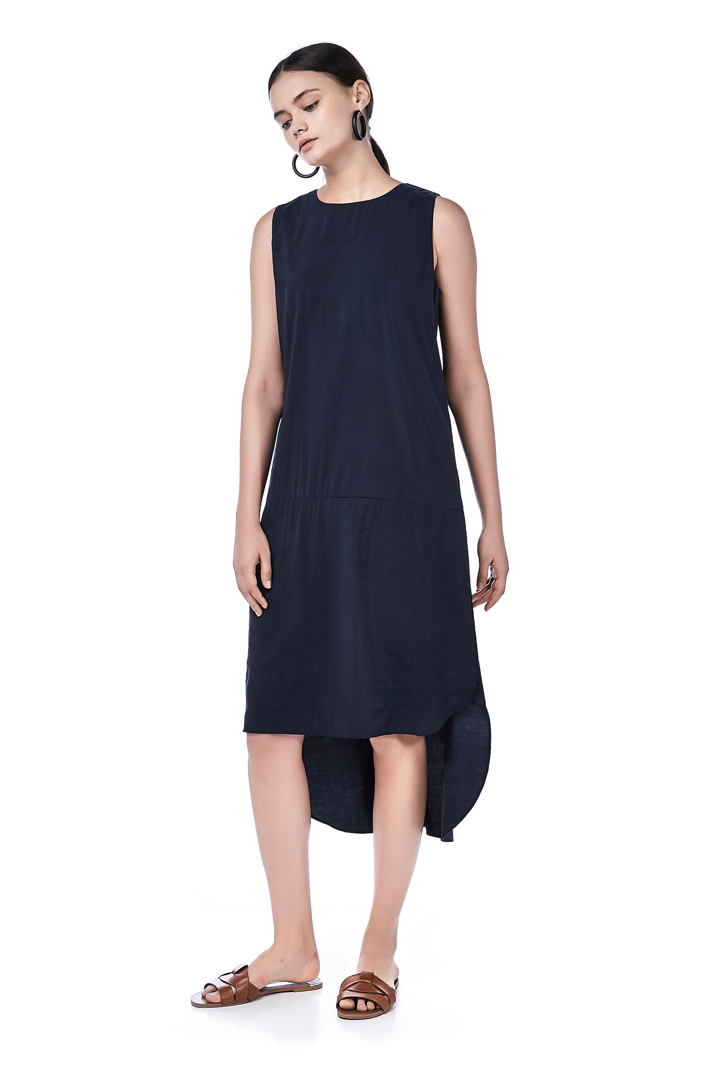 Gershwin Drop-Waist Tank Dress