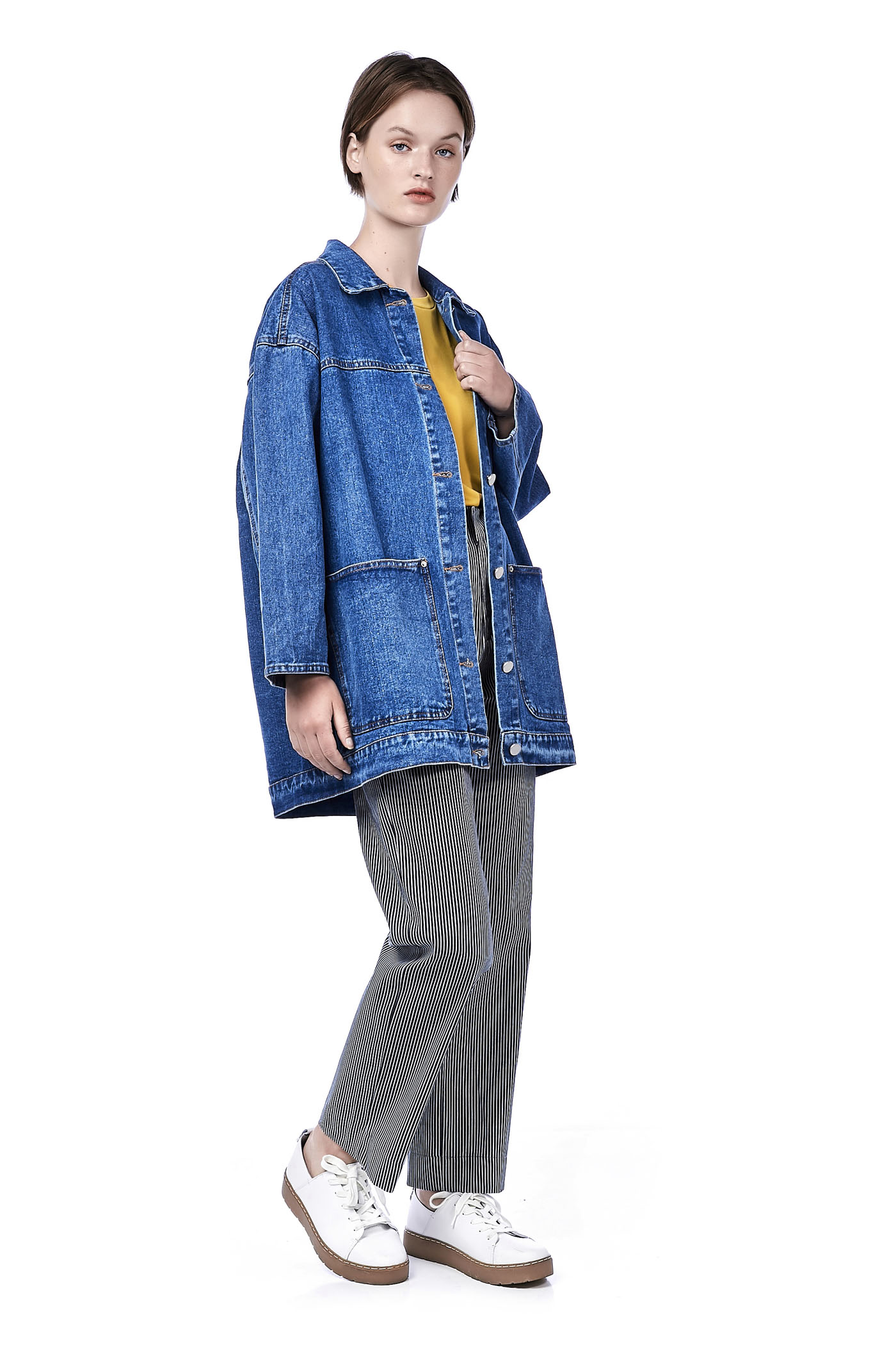 Moshie Oversized Denim Jacket