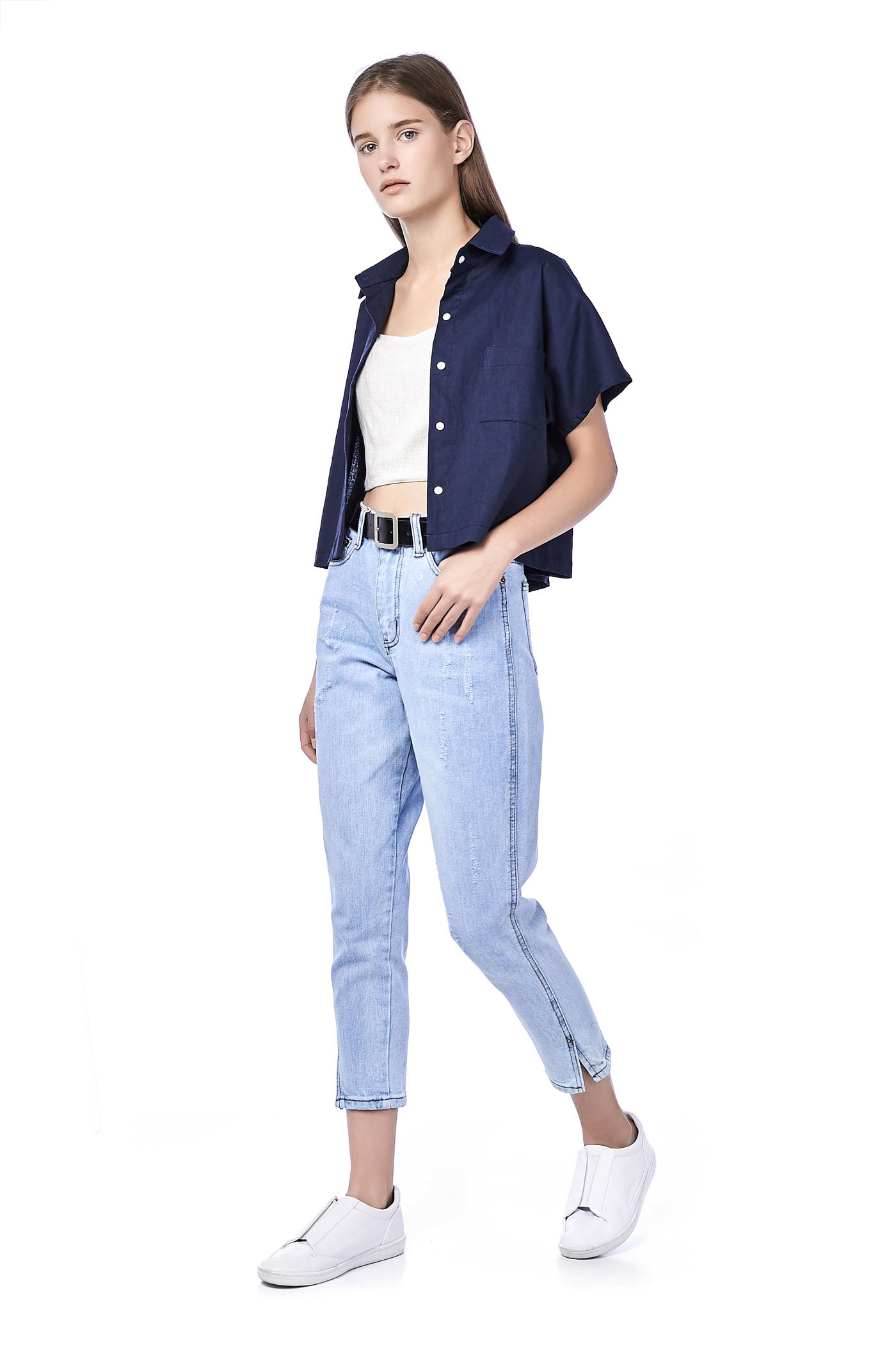 Neema Crop Shirt