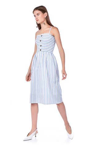 Jeline Bandeau Midi Dress