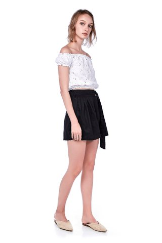 Cilla Crochet Crop Top