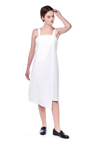Morissa Overlap Midi Dress