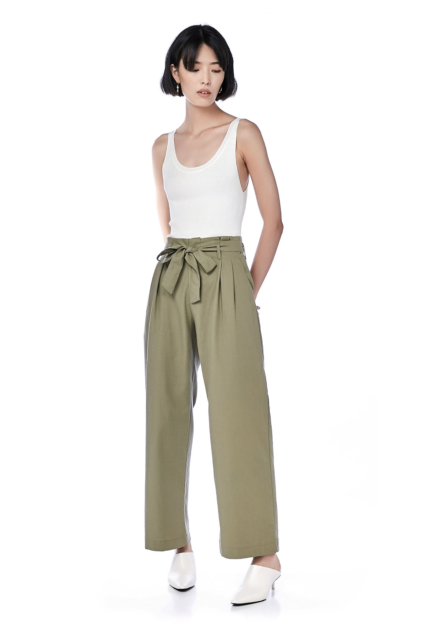 Amby High-Waisted Pants