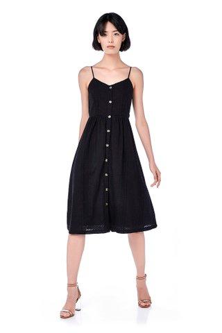 Lowa Broderie Midi Dress