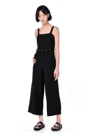 Leia Belted Jumpsuit