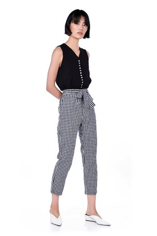 Rony Gingham Pants