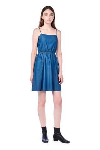 Elyah Back-Tie Dress