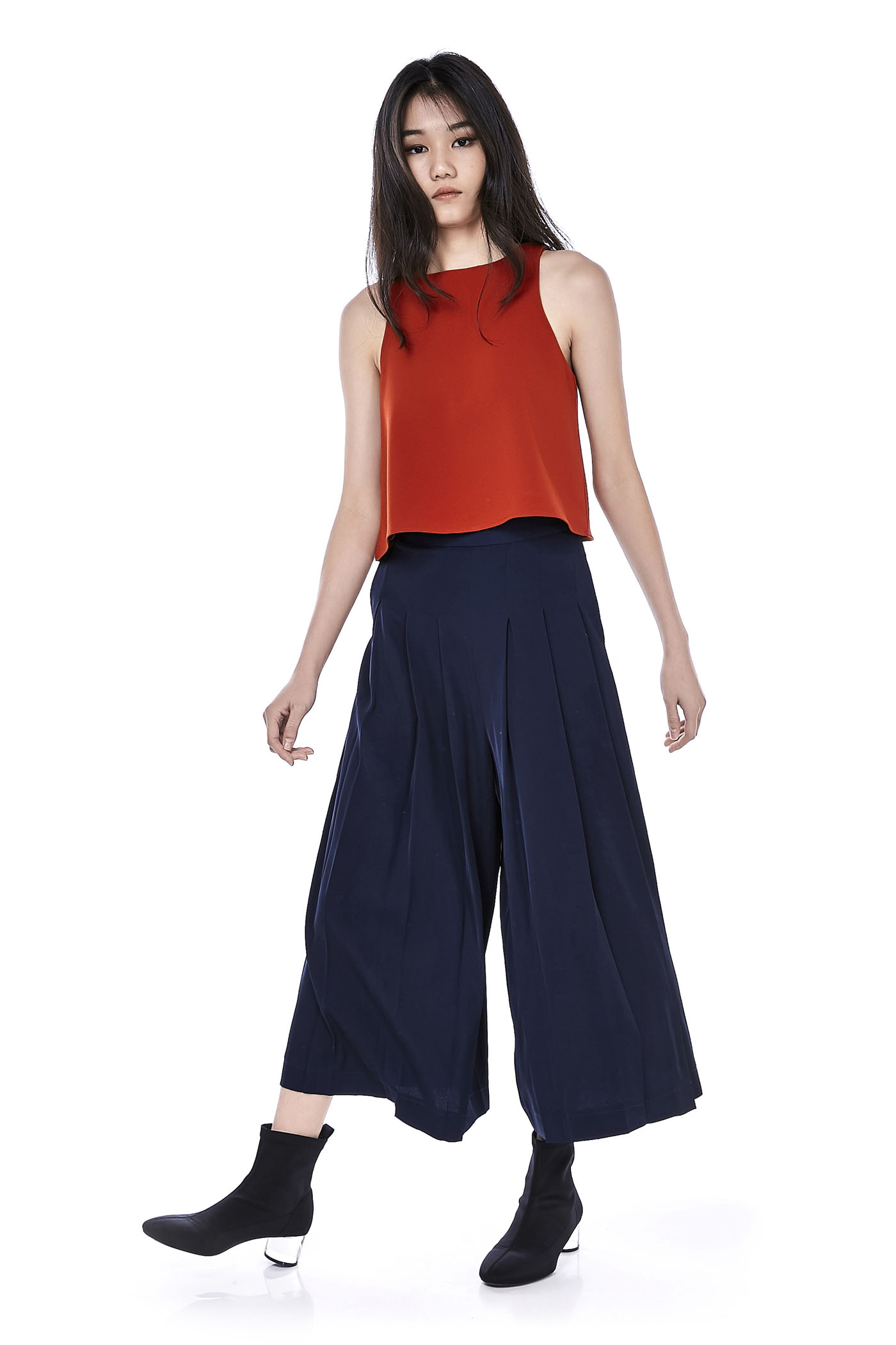 Anise Pleated Pants