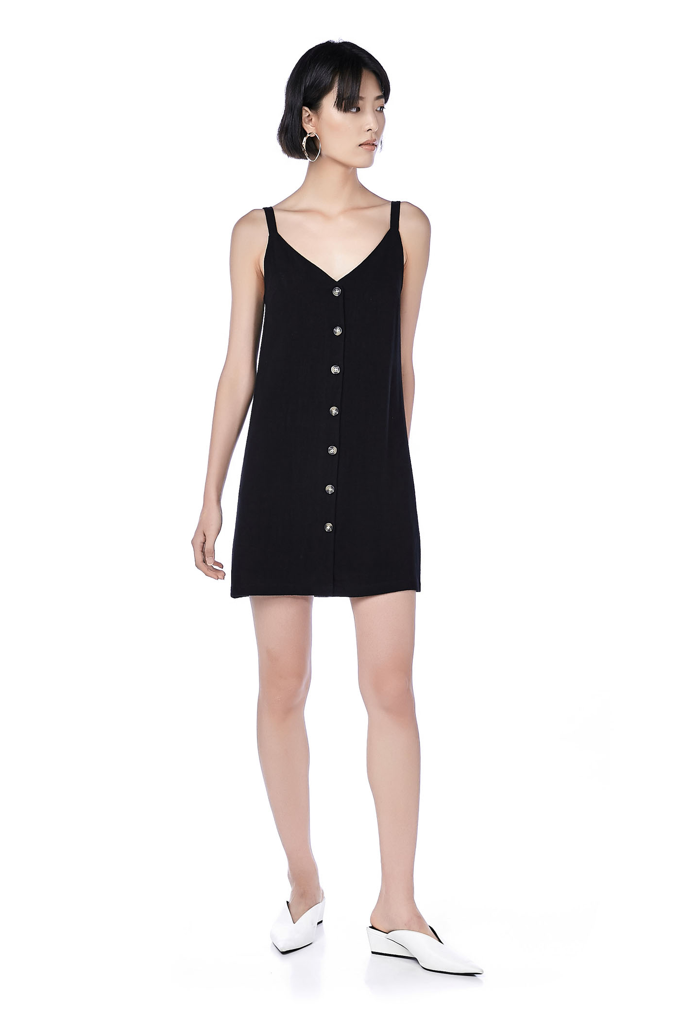 Keva Button-Down Dress