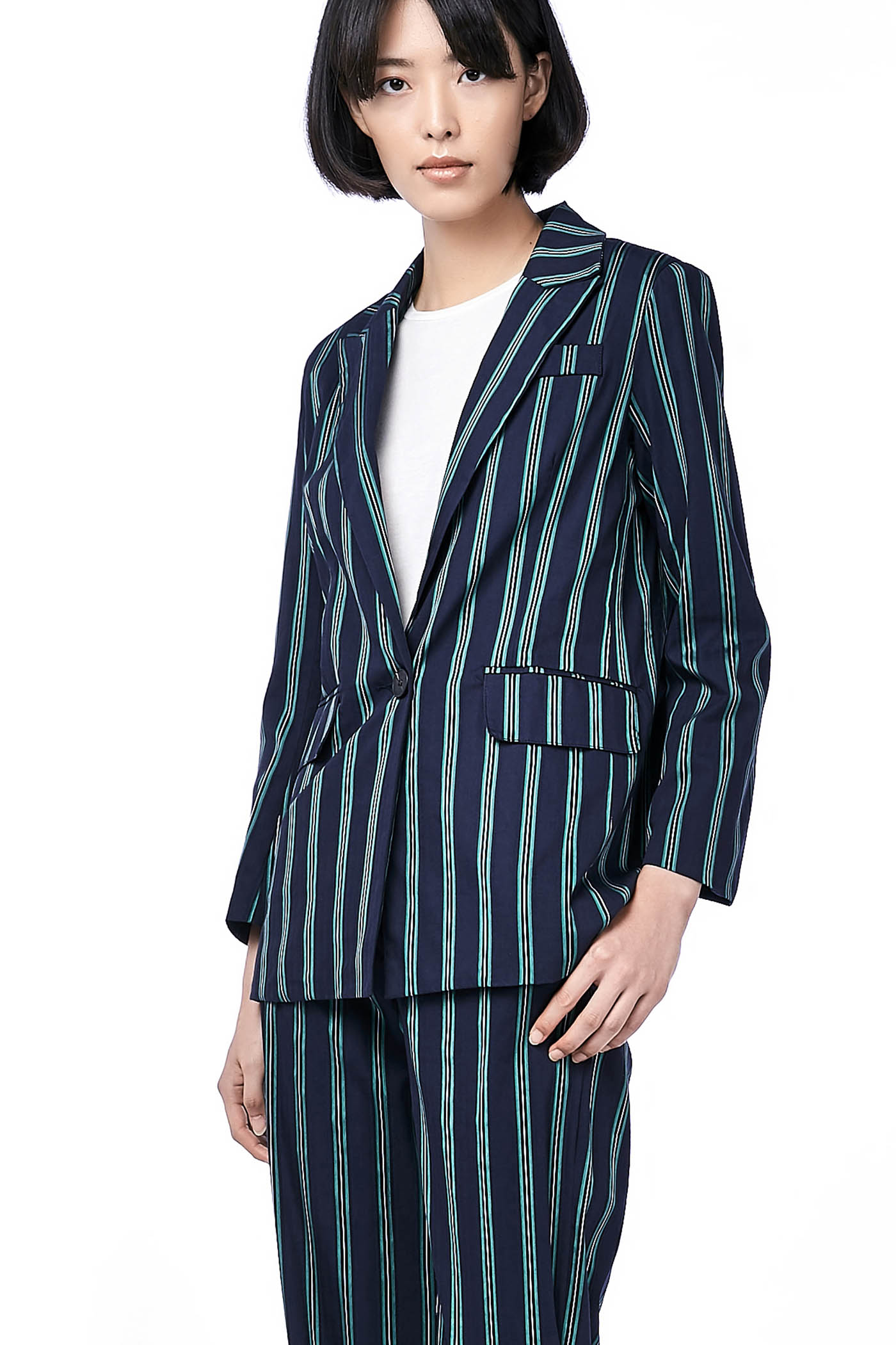 Sheela Stripe Blazer