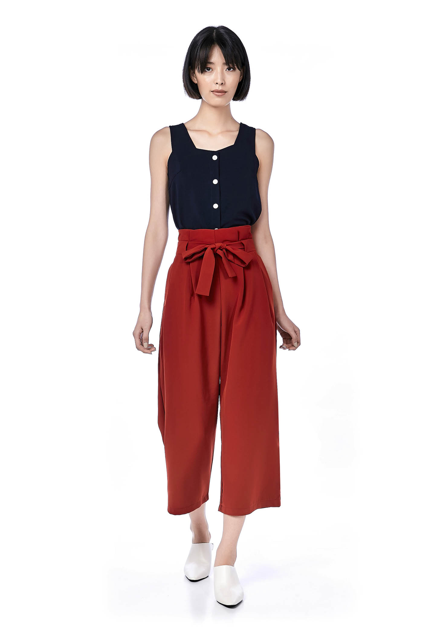 Nereo Pleated Waist Pants