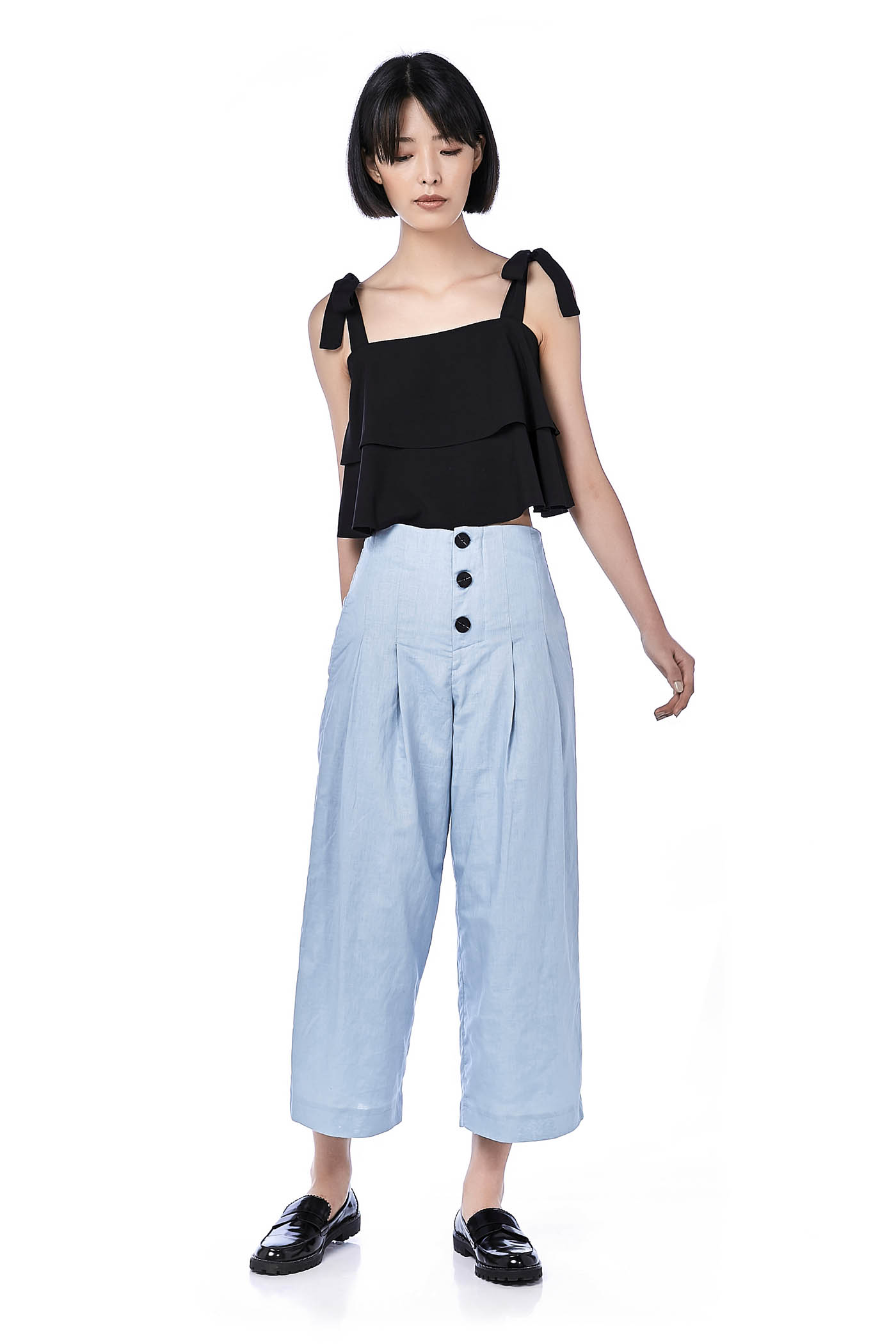 Hacci Button-Down Pants
