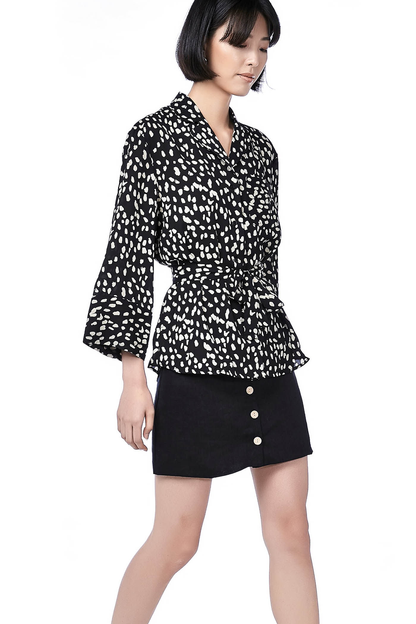 Ezy Belted Blouse