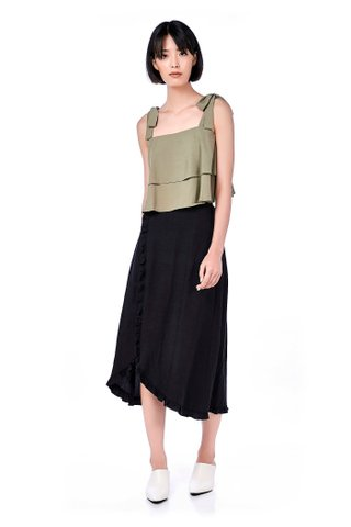 Elinor Tiered Crop Top