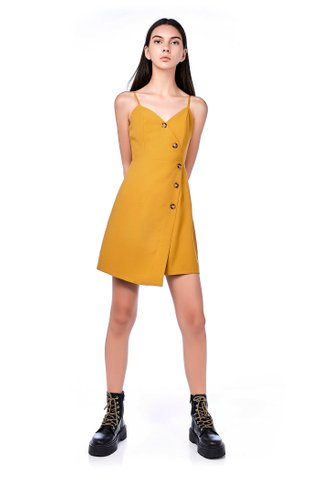 Dewina Cross-front Dress