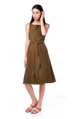 Clairene Midi Dress