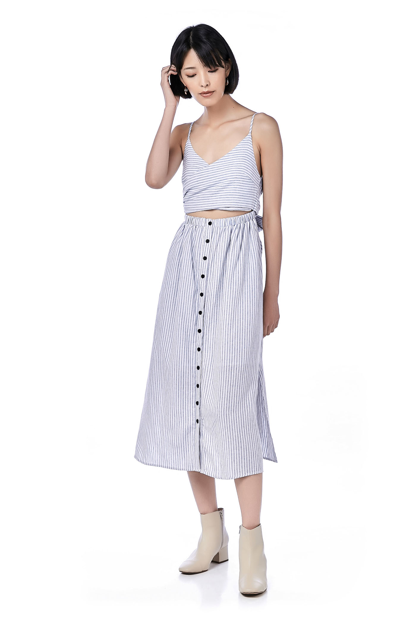 Rhie Two-piece Maxi Dress