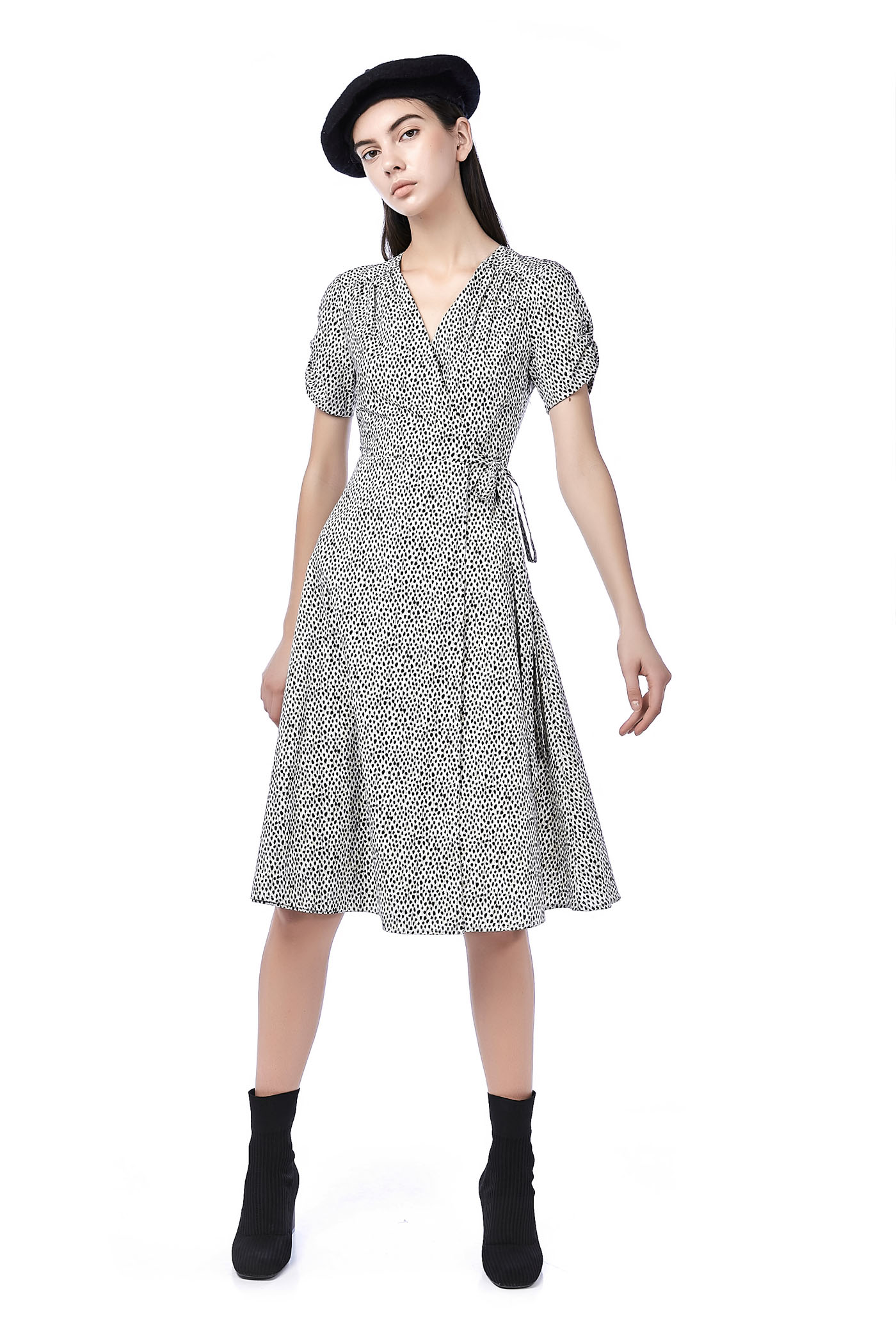 Neivie Overlap Dress