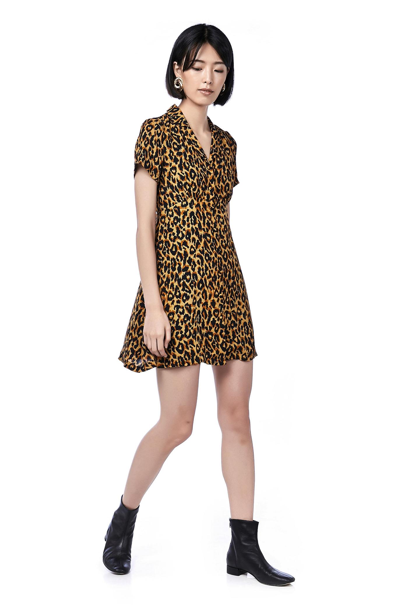 Belza Button-Through Dress