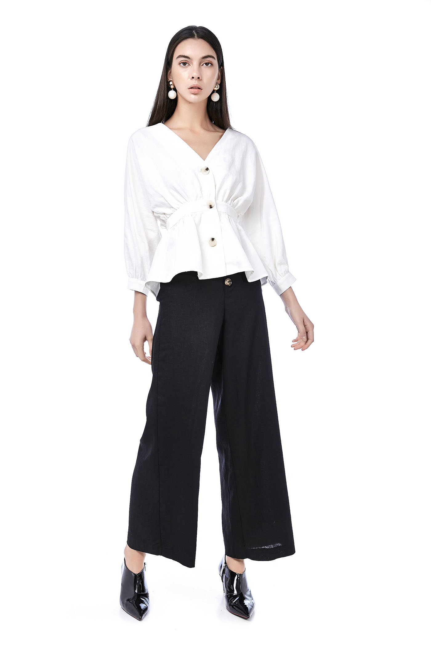 Vonda High-Waisted Pants