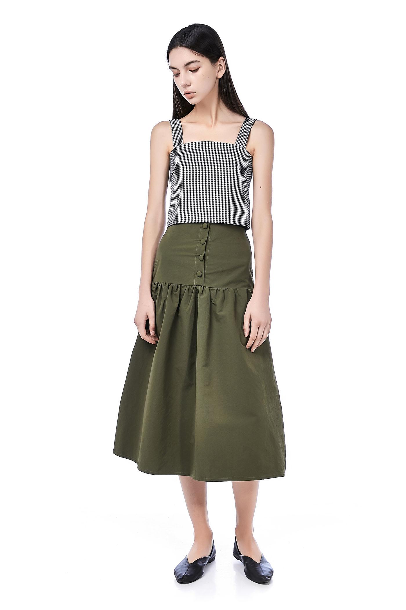 Maleah High-Waisted Skirt