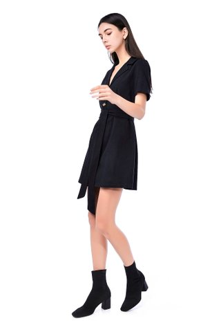 Mia Belted Midi Dress