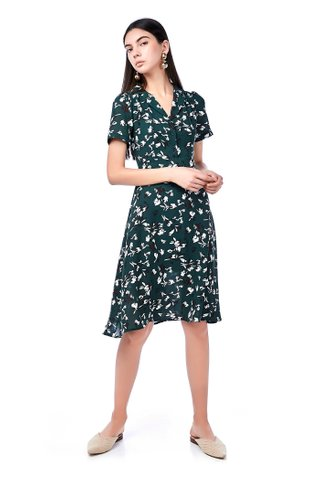 Ceni V-Neck Midi Dress