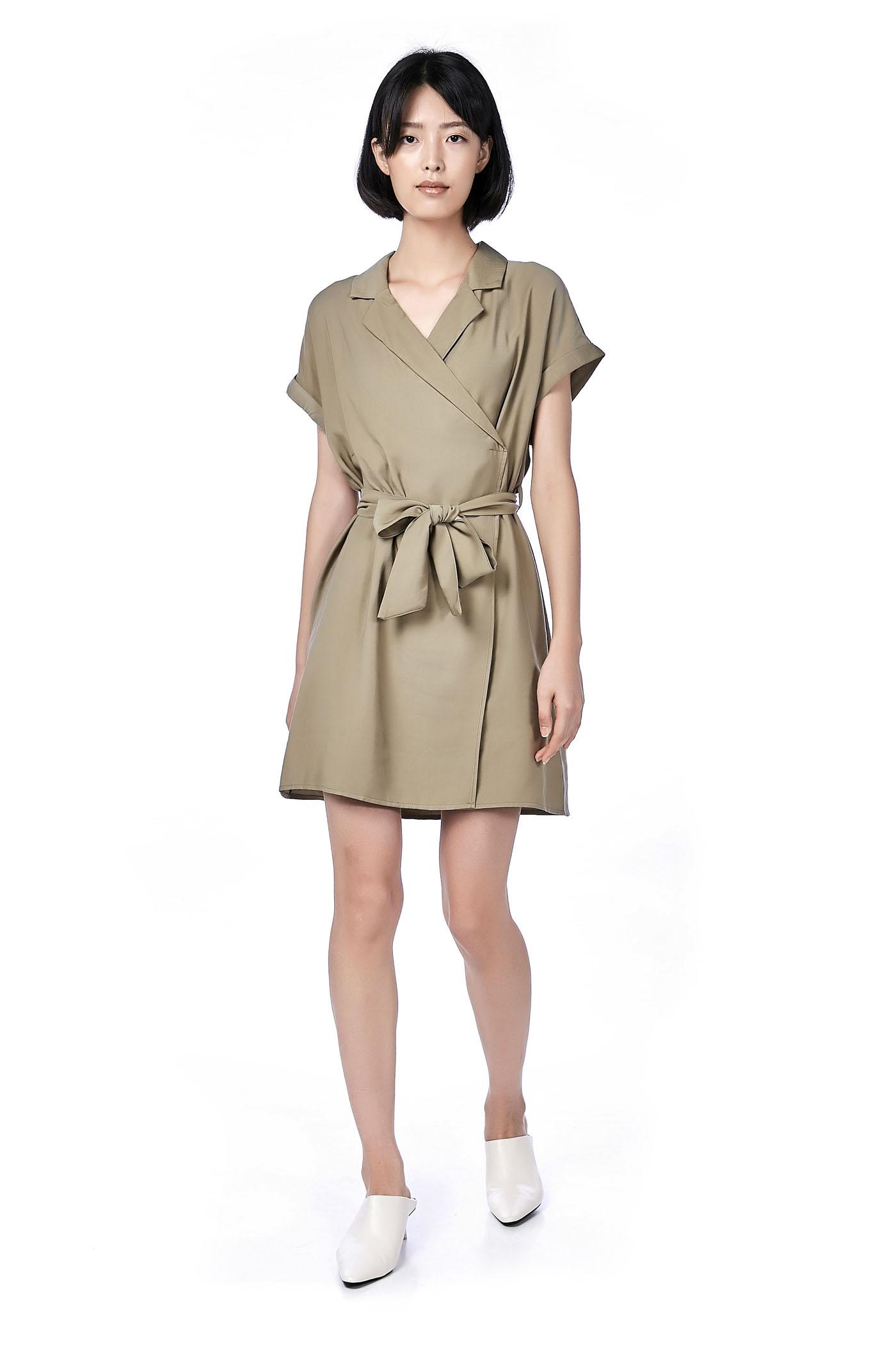 Nyssa Overlap Dress