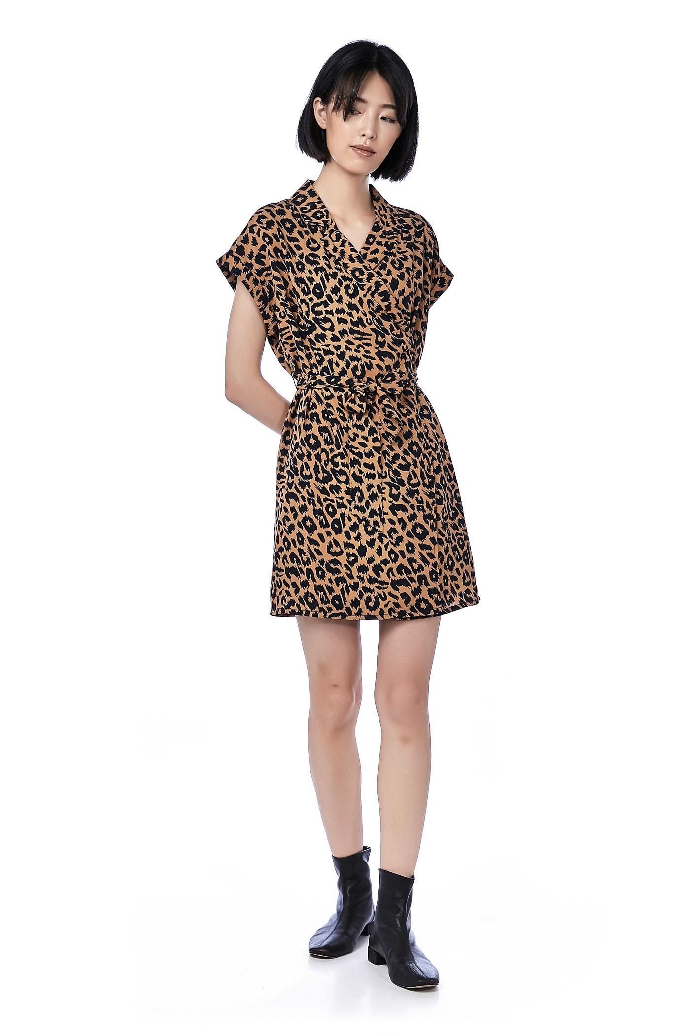 Slynne Cross-front Dress