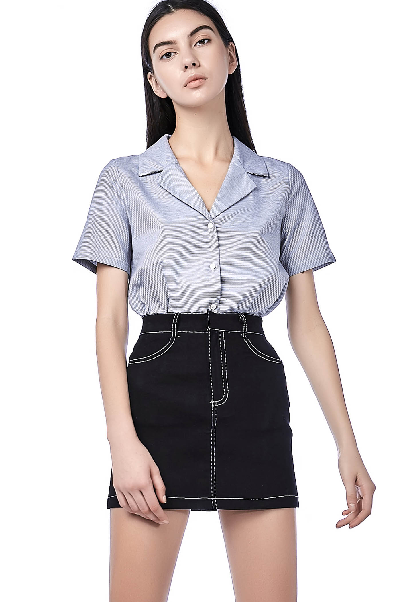 Soll Collared Blouse