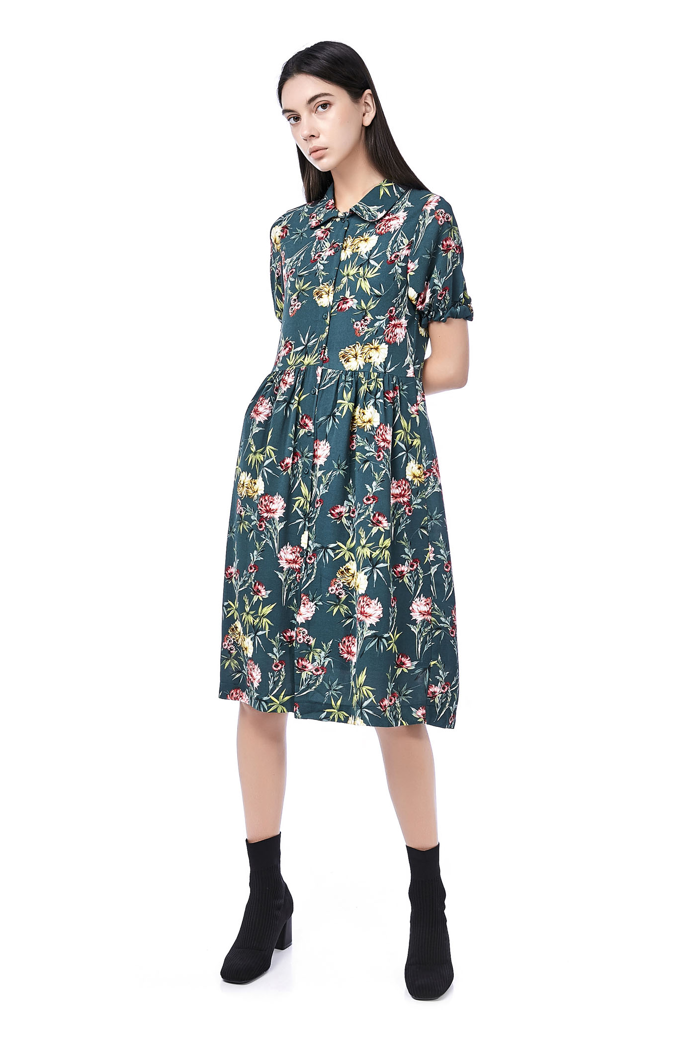 Yani Midi ShirtDress
