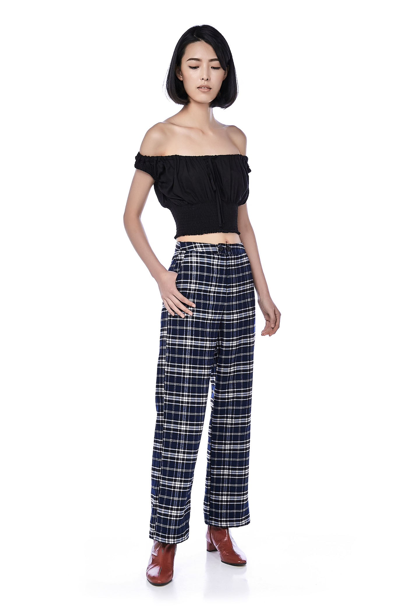 Enza Straight-Leg Pants