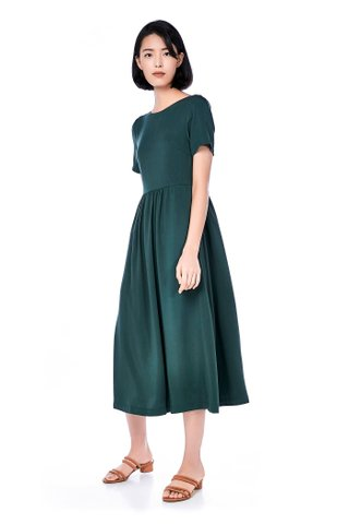Tweyne Button-Through Maxi Dress