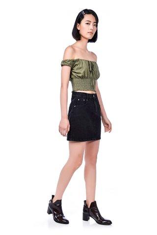 Jayess Denim Skirt