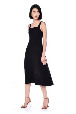 Sueann Bib Midi Dress