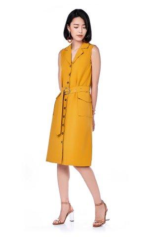 Layna Button-Through Dress