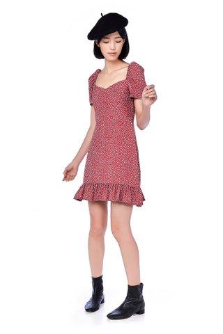 Jodi Pouf Sleeve Dress