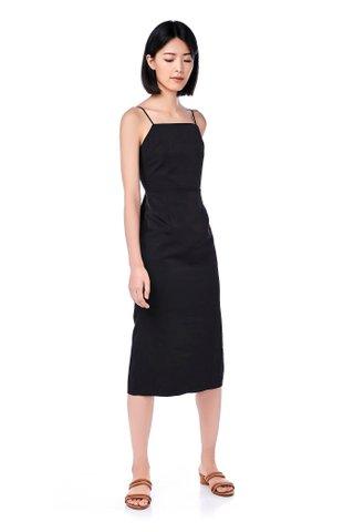 Treena Bib Midi Dress