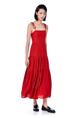 Hanis Tiered Maxi Dress